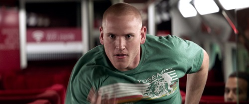 SPENCER STONE as Spencer in Warner Bros. Pictures' and Village Roadshow Pictures' THE 15:17 TO PARIS, a Warner Bros. Pictures release. Photo courtesy of Warner Bros. Pictures.
