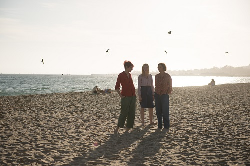 Greta Gerwig, Elle Fanning, and Annette Bening in 20TH CENTURY WOMEN. Photo by Gunther Gampine, courtesy of A24.