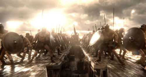 00: Rise of an Empire. 2014 Warner Bros.