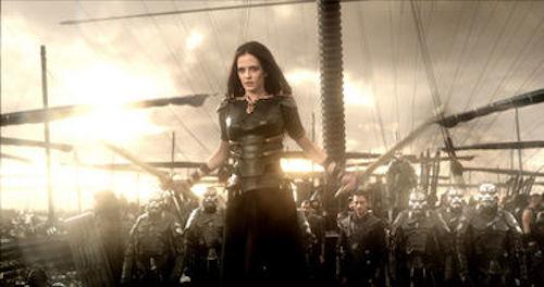 Eva Green as Artemisia in 300: Rise of an Empire. 2014 Warner Bros.