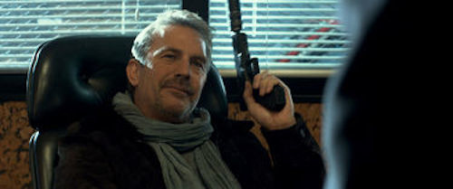 Kevin Costner in 3 Days to Kill. 2014 Relativity Media.