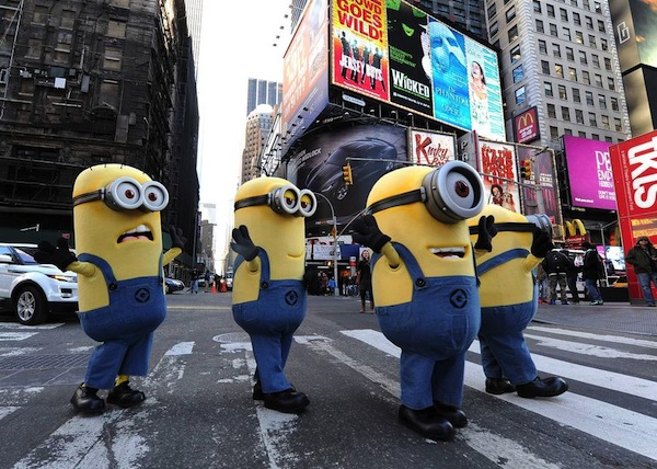 Minions In Manhattan