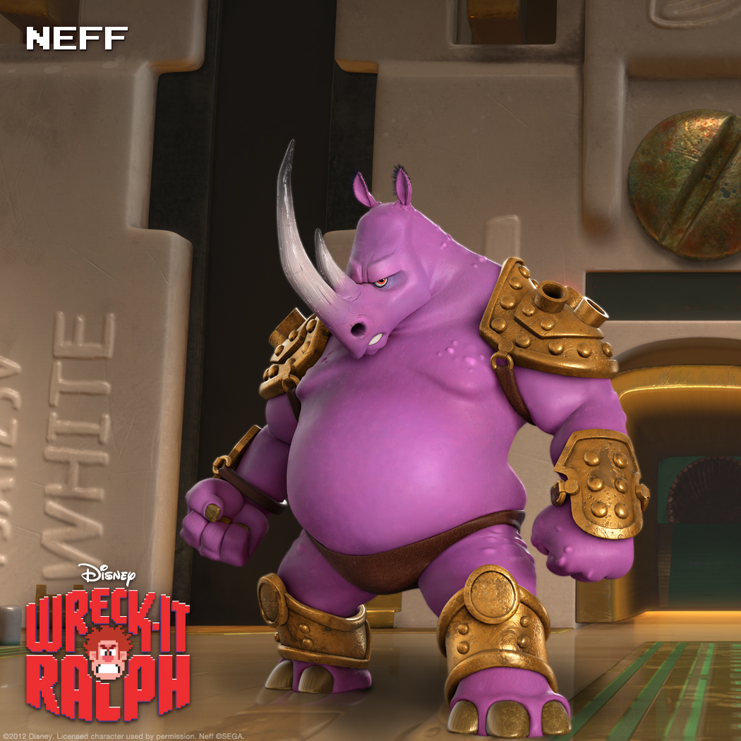 "Neff: Purple's the New Black As ""Altered Beast's"" resident evil wizard, Neff is a natural for the Bad-Anon meeting roster."