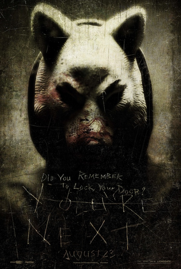 You're Next Fox Poster