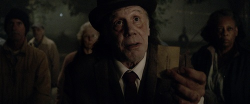 Dayton Callie in Abattoir, photo courtesy Momentum Pictures, 2016 All rights reserved.