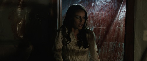 Jessica Lowndes in Abattoir, photo courtesy Momentum Pictures, 2016 All rights reserved.