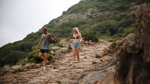 Dakota Johnson and Matthias Schoenaerts in A Bigger Splash (2015). Photo courtesy of StudioCanal.