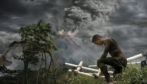 Jaden Smith stars in Columbia Pictures' After Earth, also starring Will Smith.PHOTO BY: Courtesy of Columbia Pictures.COPYRIGHT: 2012 Columbia Pictures Industries, Inc. All Rights Reserved. **ALL IMAGES ARE PROPERTY OF SONY PICTURES ENTERTAINMENT INC. FOR PROMOTIONAL USE ONLY. SALE, DUPLICATION OR TRANSFER OF THIS MATERIAL IS STRICTLY PROHIBITED.