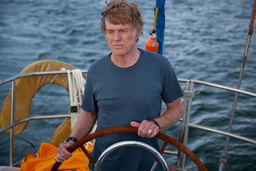 Robert Redford in All Is Lost. 2013 Daniel Daza / Lionsgate Films.