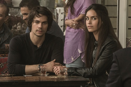 (Left to right) Dylan O'Brien and Shiva Negar in AMERICAN ASSASSIN to be released by CBS Films and Lionsgate.