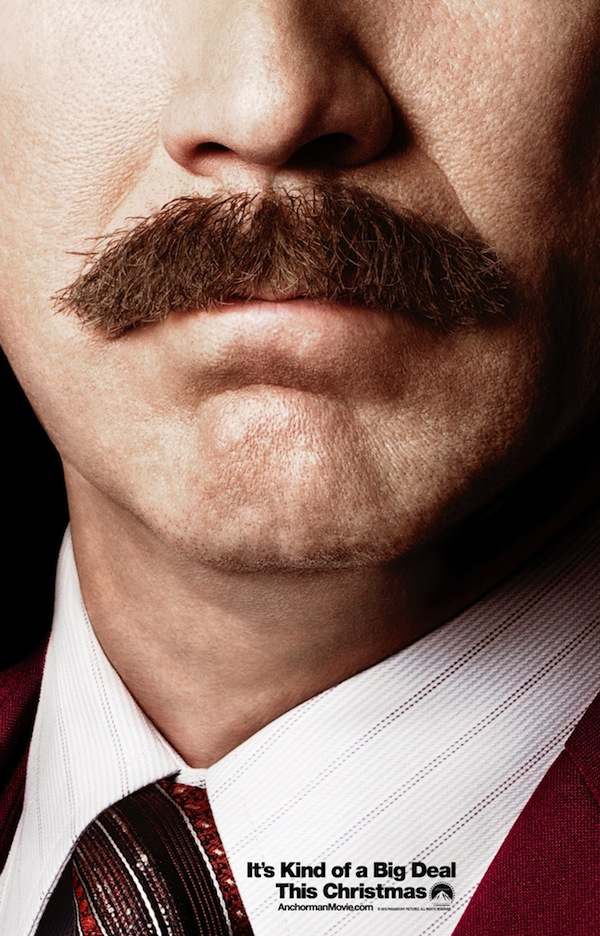 Ron Burgundy Anchorman 2 Poster