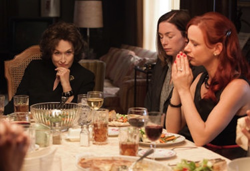 Meryl Streep, Julianne Nicholson and Juliette Lewis in August: Osage County. 2013 Claire Folger / Weinstein Co.