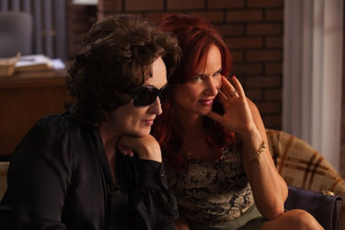 Meryl Streep and Juliette Lewis in August: Osage County. 2013 Claire Folger / Weinstein Co.