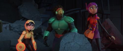Big Hero 6. 2014 Walt Disney Animation Studios.