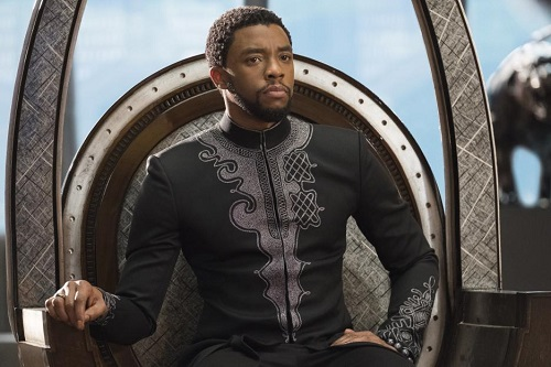 Black Panther, courtesy Marvel Studios/Walt Disney Pictures, All Rights Reserved.