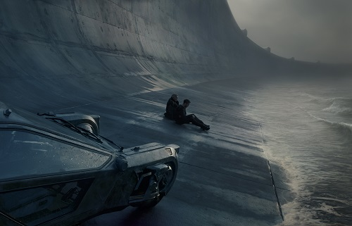 A scene from Alcon Entertainment's action thriller BLADE RUNNER 2049, a Warner Bros. Pictures and Sony Pictures Entertainment release, domestic distribution by Warner Bros. Pictures and international distribution by Sony Pictures.