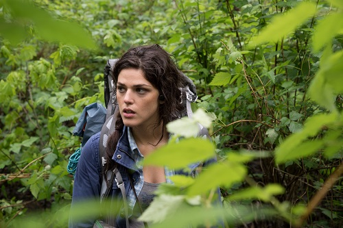 Callie Hernandez stars as 'Lisa' in BLAIR WITCH. Photo Credit: Chris Helcermanas-Benge, courtesy Lionsgate Films.