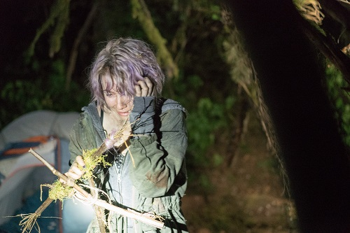 Valorie Curry stars as 'Talia' in BLAIR WITCH. Photo Credit: Chris Helcermanas-Benge, photo courtesy Lionsgate Films.