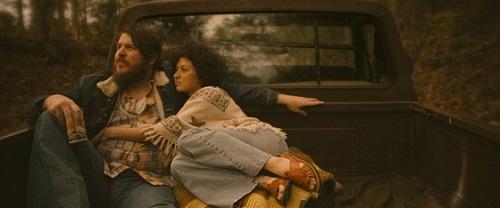 Ben Dickey as Blaze Foley, and Alia Shawkat as Sybil Rosen in Ethan Hawke's BLAZE. Courtesy of IFC Films. An IFC Films release.