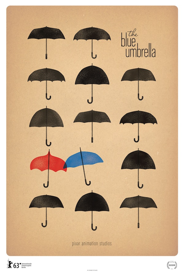 Pixar's The Blue Umbrella Berlinale Poster