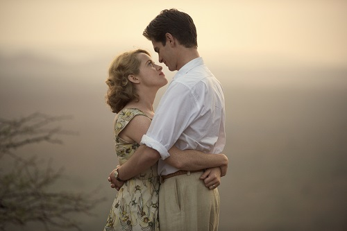 Claire Foy and Andrew Garfield star as Diana and Robin Cavendish in BREATHE, a Bleecker Street and Participant Media release.
