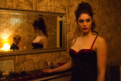 (Gemma Arterton as Clara and Thure Lindhardt as Werner in Byzantium.2013 Patrick Redmond / IFC Films.
