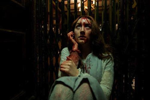 Saoirse Ronan as Eleanor in Byzantium.2013 Patrick Redmond / IFC Films.