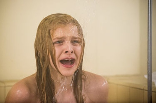 Chloe Moretz in Carrie. 2013 Michael Gibson / Sony Pictures.