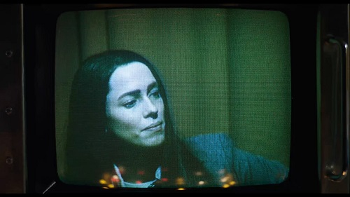 Rebecca Hall in Christine, photo courtesy of The Orchard. All Rights Reserved.