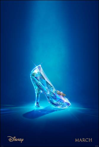 Cinderella, 2015, Glass Slipper Poster