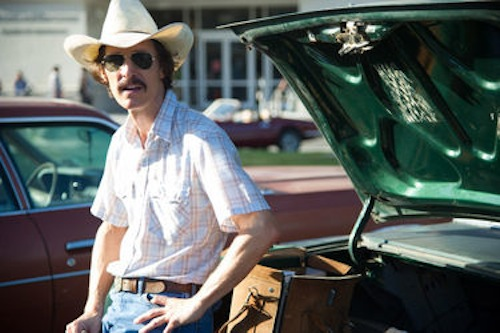 Matthew McConaughey in Dallas Buyer's Club. 2013 Focus Features.