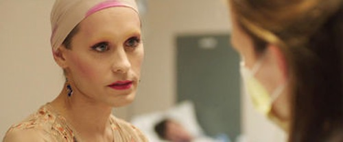 Jared Leto in Dallas Buyer's Club. 2013 Focus Features.