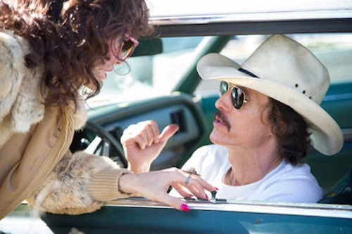Jared Leto and Matthew McConaughey in Dallas Buyer's Club. 2013 Focus Features.