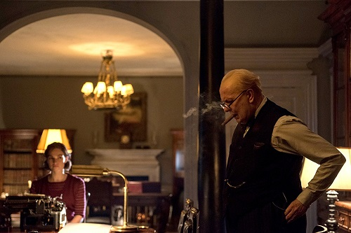 Darkest Hour, courtesy Wolking Title Films/Focus Features 2017.