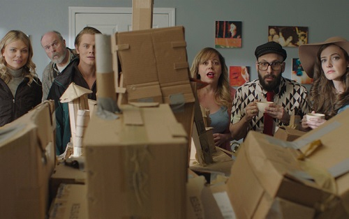 DAVE MADE A MAZE - Kamilla Alnes, Rick Overton, Drew Knigga, Kirsten Vangsness, Timothy Nordwind, and Stephanie Allynne, courtesy Gravitas Ventures 2017, All Rights Reserved.