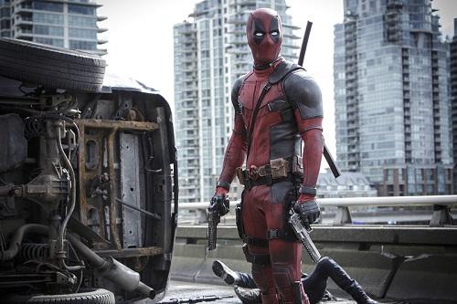 Ryan Reynolds is Marvel Comics' most unconventional anti-hero, DEAPOOL. Photo credit: Joe Lederer, 2015 Marvel and 20th Century Fox Film Corporation.
