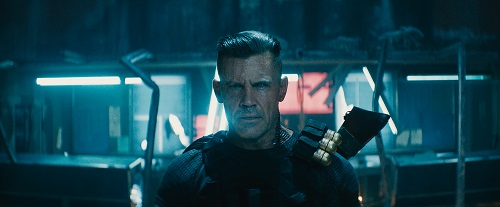 Josh Brolin as Cable in Twentieth Century Fox's DEADPOOL 2. Photo Credit: Courtesy Twentieth Century Fox.
