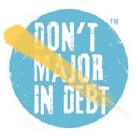 Don't Major In Debt Logo