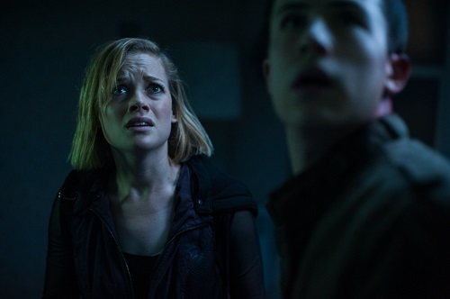 Jane Levy and Dylan Minnette star in Screen Gems' horror-thriller DON'T BREATHE. Photo Courtesy of Sony Pictures Entertainment, All Rights Reserved.