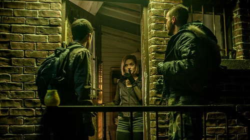 Dylan Minnette, Jane Levy and Daniel Zovatto star in Screen Gems' horror-thriller DON'T BREATHE. Photo Courtesy of Sony Pictures Entertainment, All Rights Reserved.