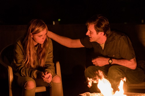 Elsie Fisher and Josh Hamilton in Eighth Grade, Photo by Linda Kallerus, courtesy of A24.