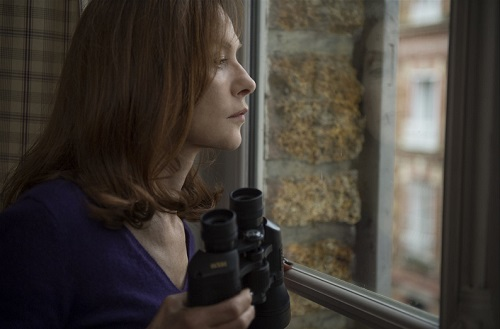 Isabelle Huppert in Elle, photo courtesy Sony Pictures Classics.