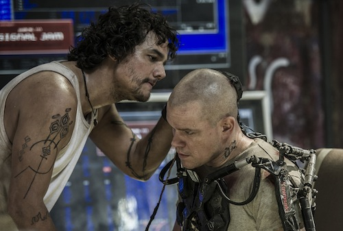 ELYSIUM. PHOTO BY: Stephanie Blomkamp COPYRIGHT:	2012 Columbia TriStar Marketing Group, Inc. All rights reserved.