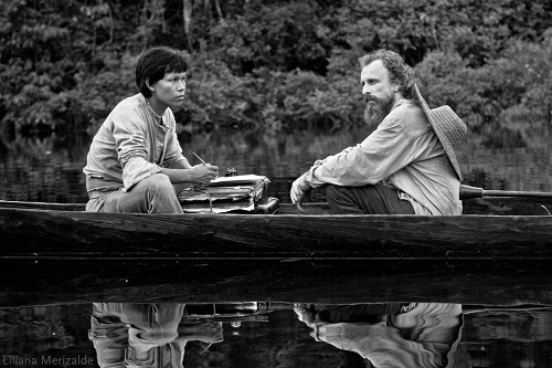 Embrace of the Serpent.  Photo courtesy Oscilloscope Pictures.