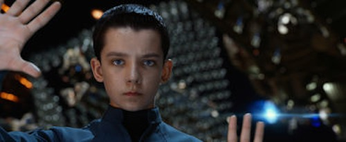 Asa Butterfield in Ender's Game. 2013 Summit Entertainment.
