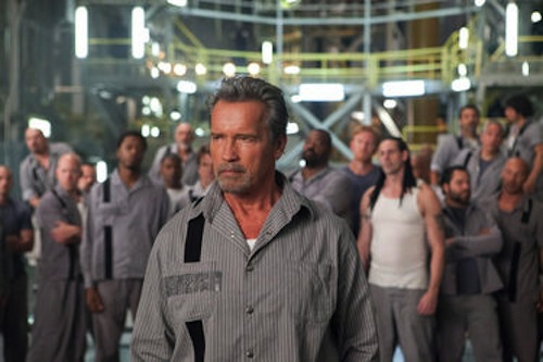 Arnold Schwarzenegger in Escape Plan. 2013 Summit Entertainment.