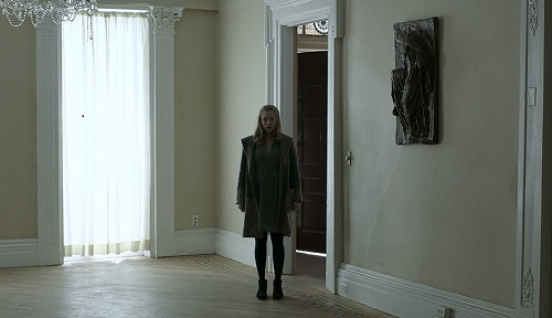 Amanda Seyfried in First Reformed, courtesy A24.