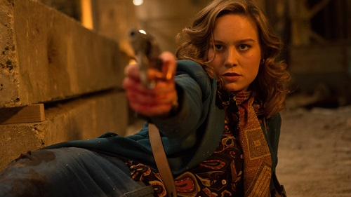Brie Larson in Free Fire, photo by Kerry Brown courtesy of A24.
