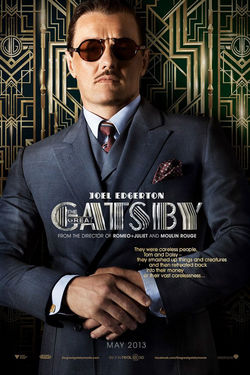 Joel Edgerton Character Poster, The Great Gatsby