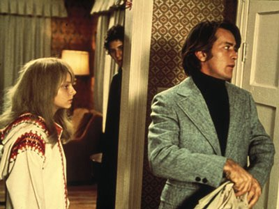 Martin Sheen and Jodie Foster in The Little Girl Who Lives Down The Lane